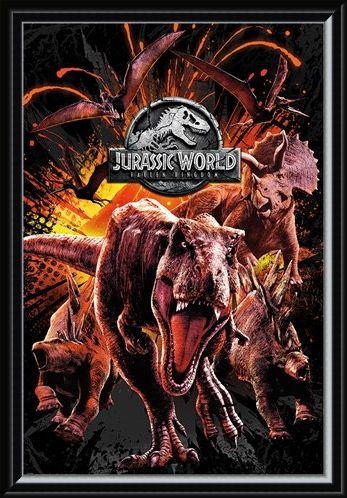 Framed Framed Fallen Kingdom Montage - Jurassic World