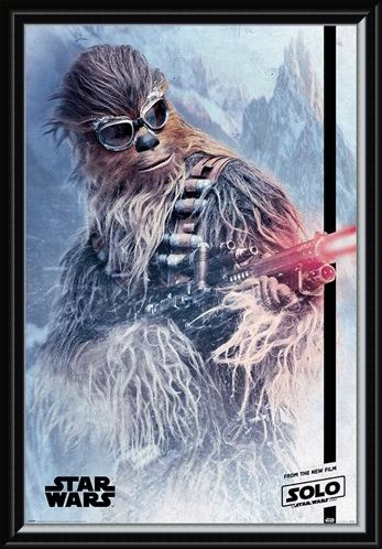 Framed Framed Chewie Blaster - Solo: A Star Wars Story