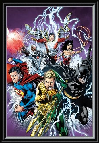 Framed Framed Strike! - Justice League of America