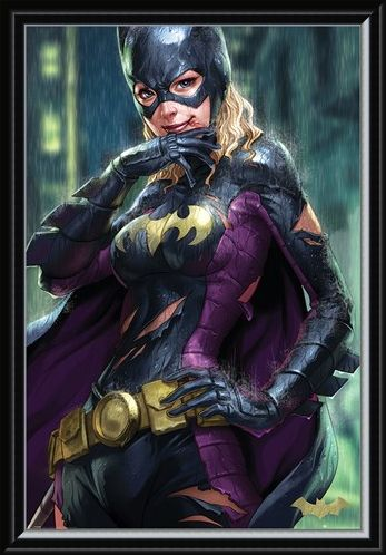 Framed Framed Batgirl - Batman