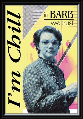 Framed Framed In Barb We Trust - Stranger Things