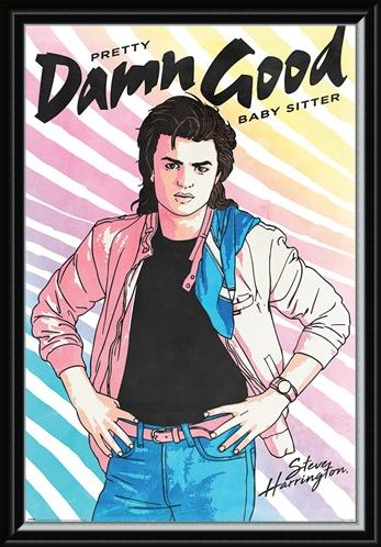 Framed Framed Damn Good Babysitter - Stranger Things