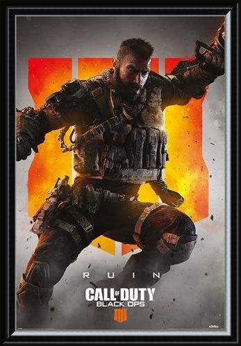 Framed Framed Ruin - Call Of Duty: Black Ops 4