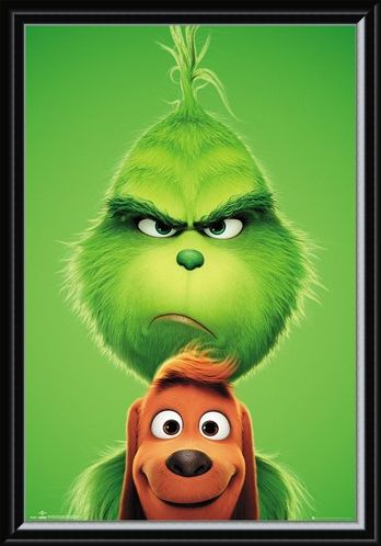 Framed Framed Grinch and Max - The Grinch