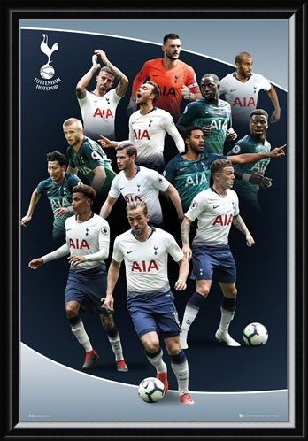 Framed Framed Players 18-19 - Tottenham Hotspur