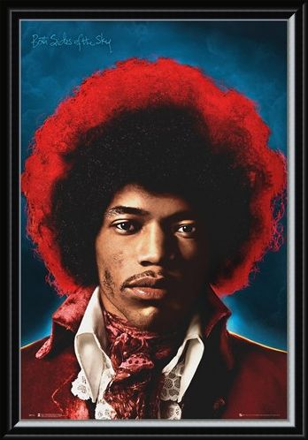 Framed Framed Both Sides Of The Sky - Jimi Hendrix
