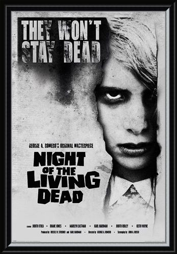 Framed Framed Living Dead Girl - Night of the Living Dead