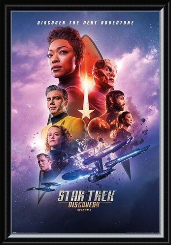 Framed Framed Discovery Next Adventure - Star Trek