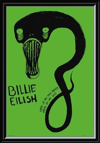 Framed Framed Ghoul - Billie Eilish