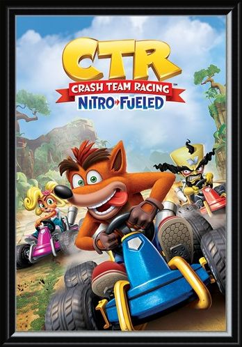 Framed Framed Nitro-Fueled - Crash Team Racing
