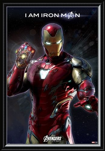 Framed Framed I Am Iron Man - Avengers: Endgame