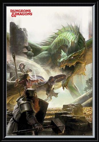 Framed Framed An Epic Adventure - Dungeons & Dragons