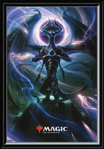 Framed Framed Black Magic - Magic: The Gathering