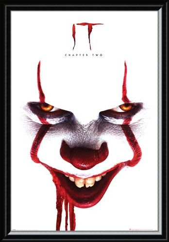 Framed Framed Pennywise Face - IT Chapter Two