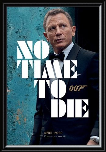Framed Framed No Time To Die - Azure Teaser - James Bond