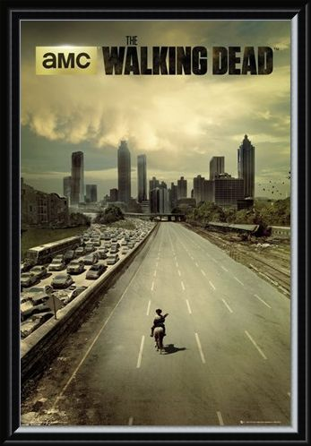 Framed Framed Andrew Lincoln Is Rick Grimes - The Walking Dead