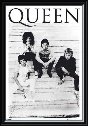 Framed Framed Another One Bites The Dust - Queen