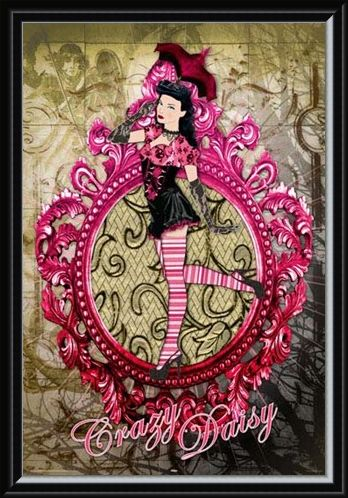 Framed Framed Crazy Daisy - 50's Fashion