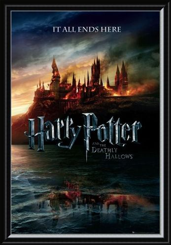 Framed Framed The End of an Era - Harry Potter and The Deathly Hallows
