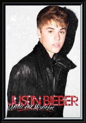 Framed Framed Under the Mistletoe - Justin Bieber