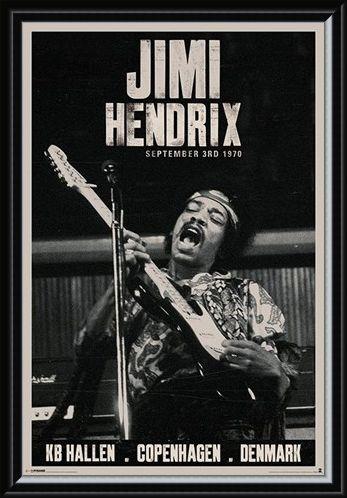 Framed Framed Live in Copenhagen - Jimi Hendrix