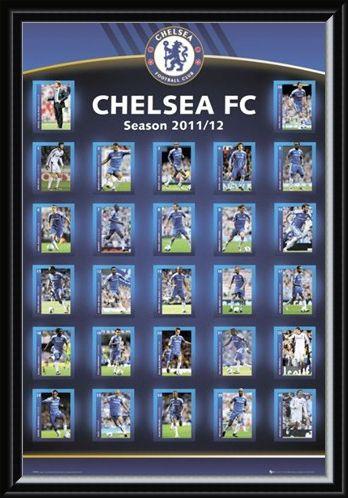 Framed Framed Squad Profiles 2011/12 - Chelsea Football Club