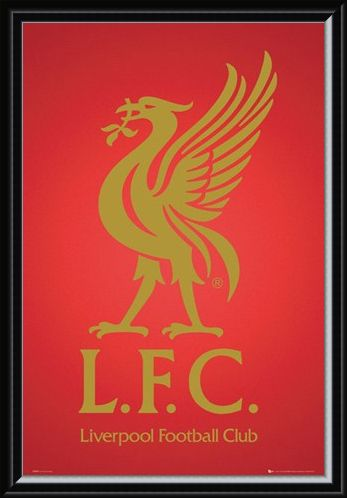 Framed Framed Club Crest - Liverpool Football Club