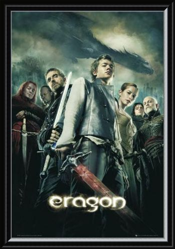 Framed Framed Eragon Movie One Sheet - Eragon