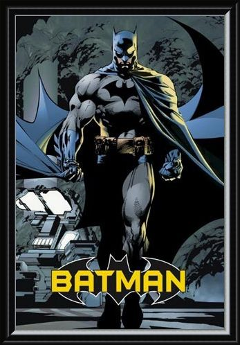 Framed Framed Batman - DC Comics