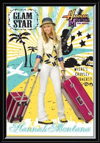 Framed Framed Glam Star - Hannah Montana: The Movie