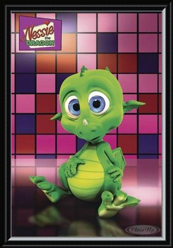 Framed Framed Nessie the Dragon - Jamster