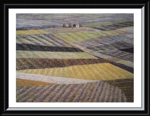 Framed Framed Tuscany No 3 - Stelio Scamanga