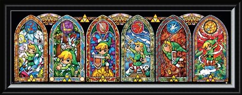 Framed Framed Gaming Is My Religion - The Legend Of Zelda