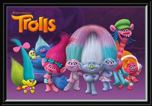 Framed Framed Meet The Trolls! - Trolls Characters
