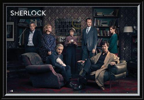 Framed Framed Meet the Cast - Sherlock