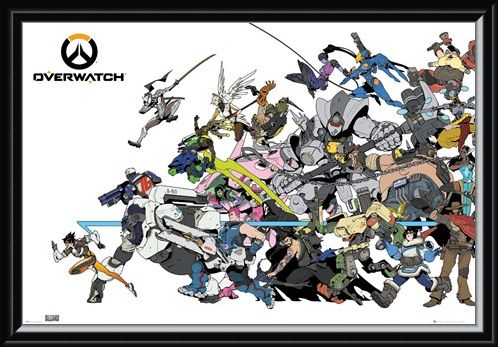 Framed Framed Battle - Overwatch