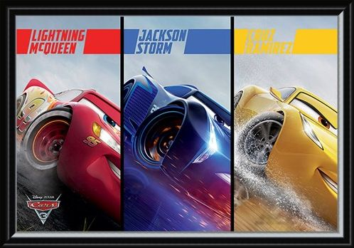 Framed Framed Split - Cars 3