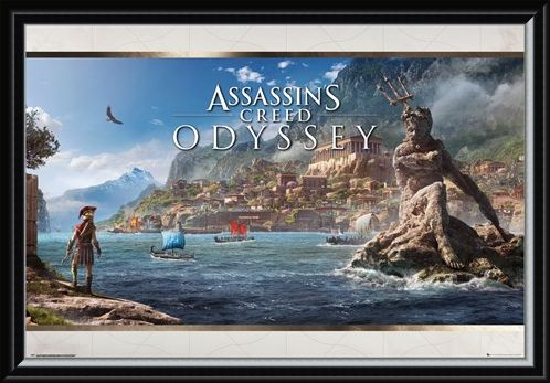 Framed Framed Odyssey Vista - Assassins Creed