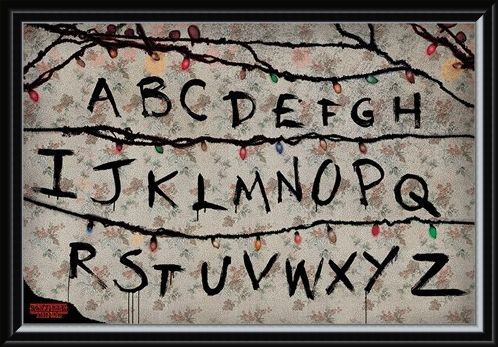 Framed Framed (R, U, N) - Stranger Things