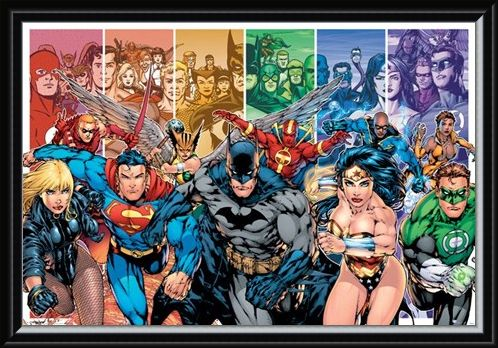 Framed Framed Justice League of America - DC Comics