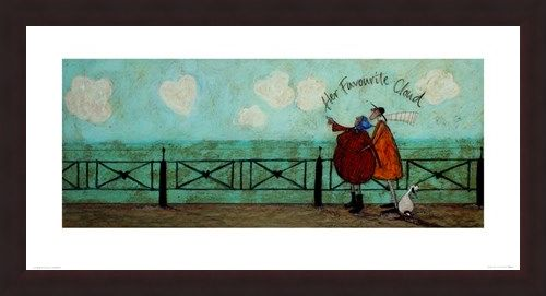 Framed Framed Her Favourite Cloud - Sam Toft