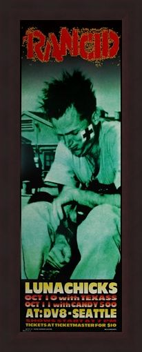 Framed Framed Rancid - Frank Kozik