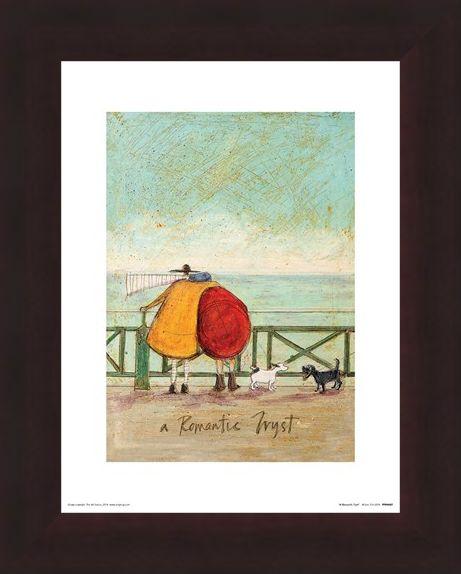 Framed Framed A Romantic Tryst - Sam Toft