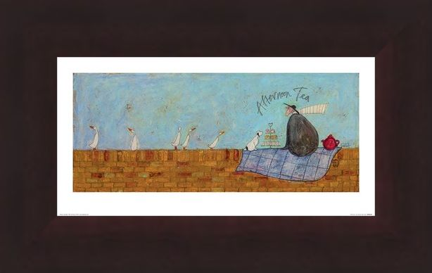 Framed Framed Afternoon Tea - Sam Toft