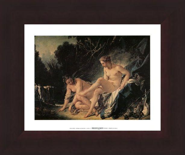 Framed Framed Diana Al Bagno - Francois Boucher