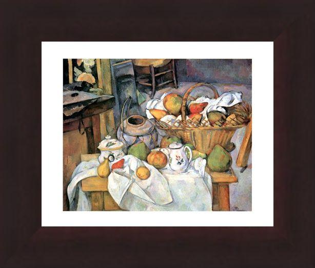 Framed Framed Natura Morta - Paul Cezanne