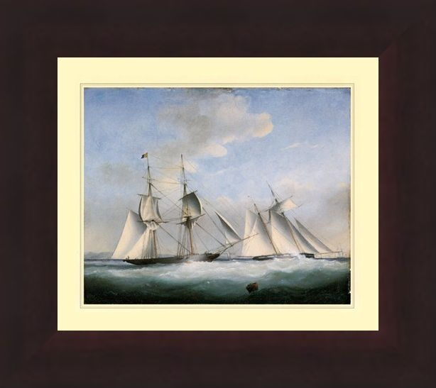Framed Framed The Ship 'Water Witch' - High Seas Beauty