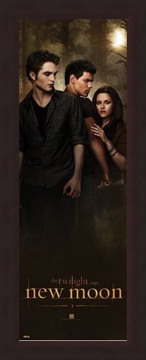 Framed Framed Edward, Bella and Jacob in the Woods - Twilight: New Moon