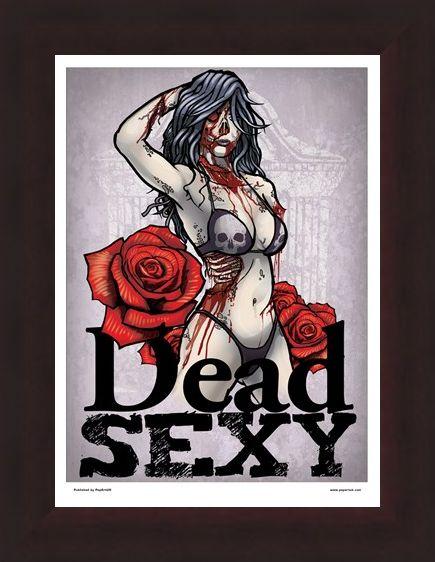 Framed Framed Dead Sexy Mini Poster - Seduction