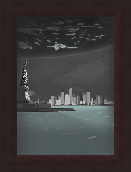 Framed Framed Your Liberty Is At Stake - Inspired By Independence Day